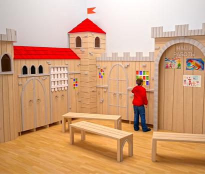 Гардеробная для детского сада
