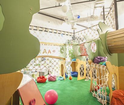 Детская игровая комната в ресторане «Кукумбер»