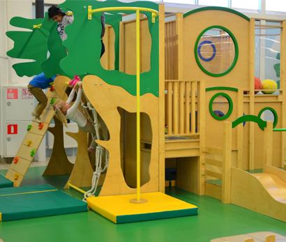 Детская игровая зона в Торговом Центре