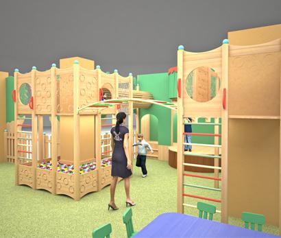 Детская игровая комната ресторана «The CAД»