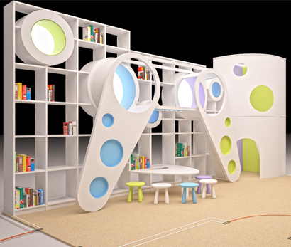 Детская игровая зона в отеле «Mont Yard»